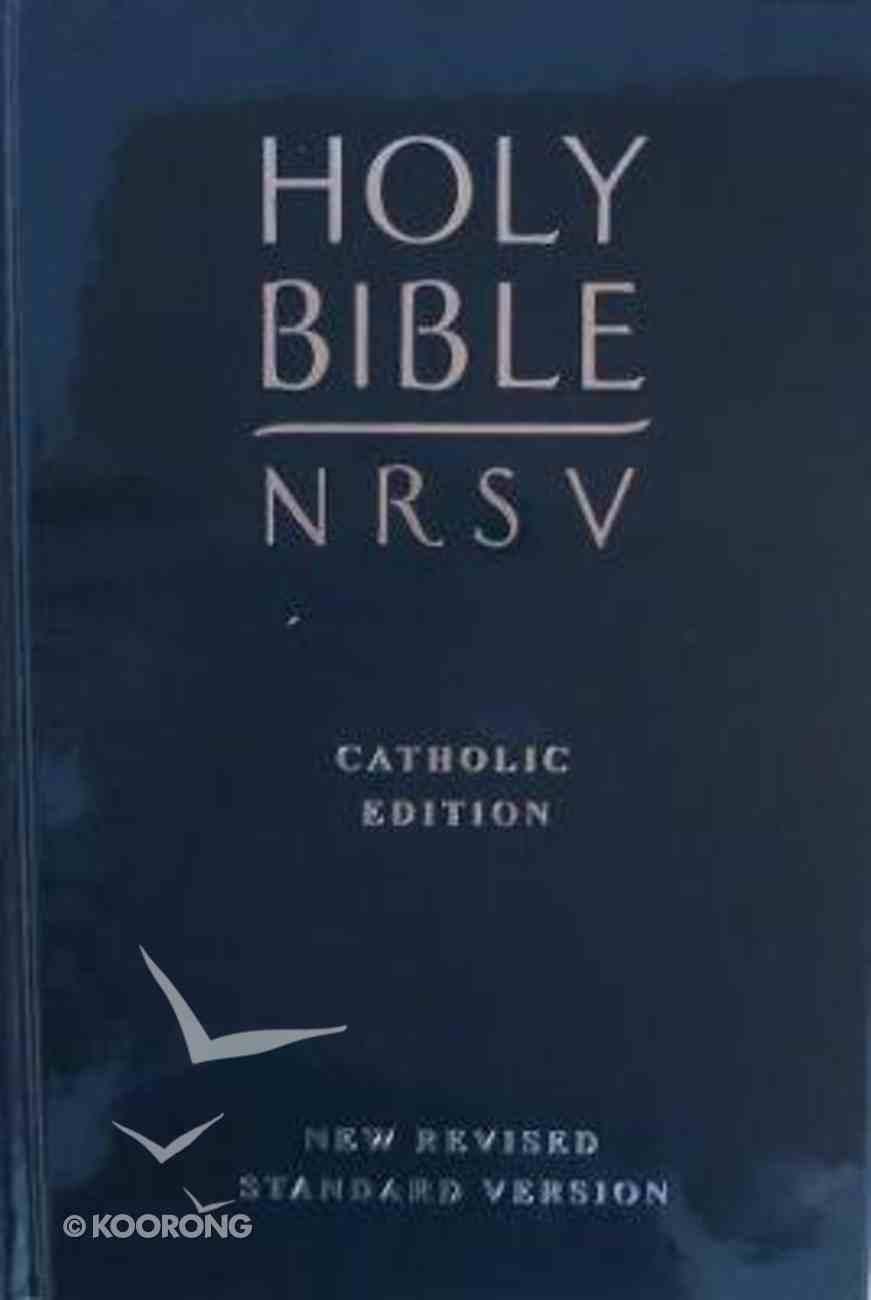 NRSV Catholic Bible With Deuterocanonical Books Navy Hardback