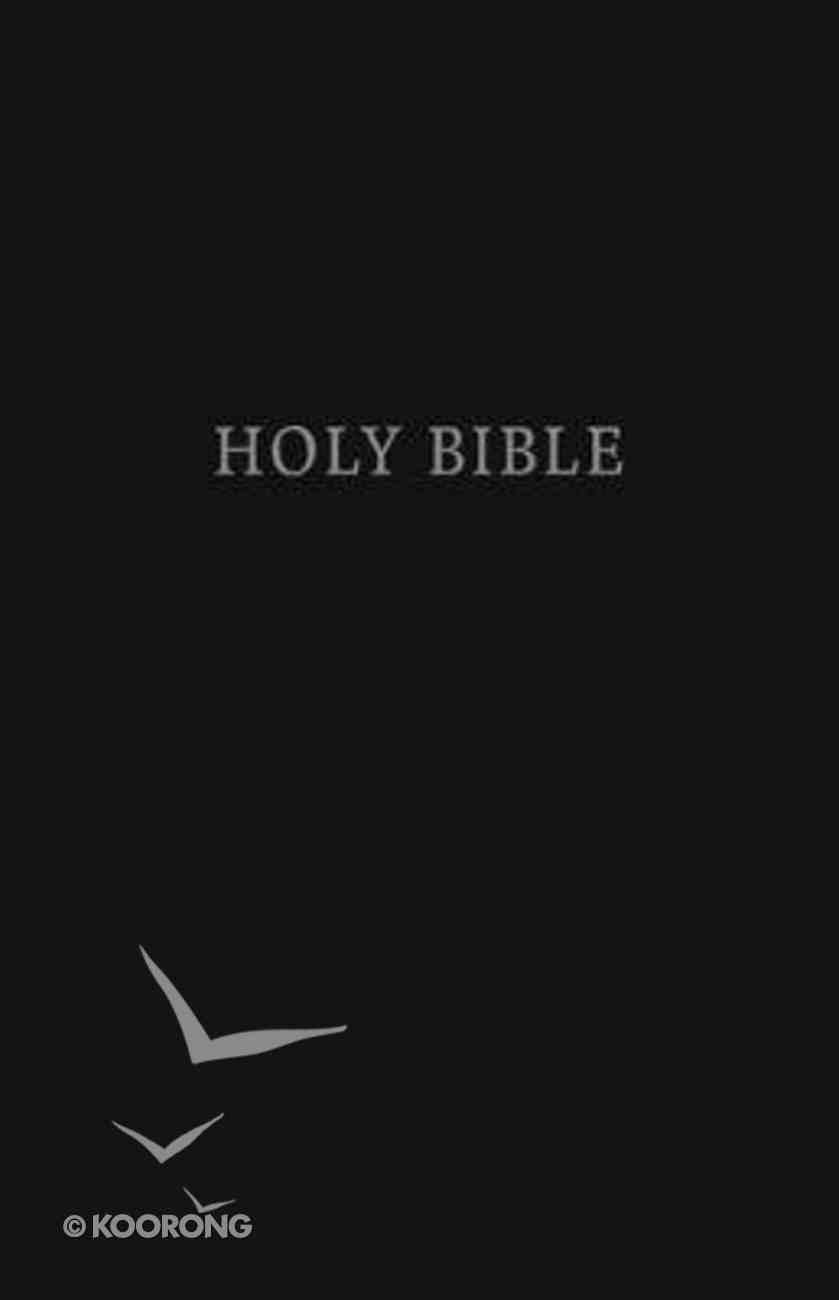 KJV Pew Bible Large Print Black (Red Letter Edition) Hardback