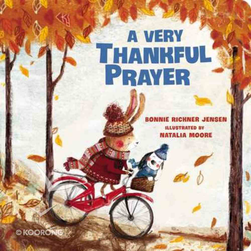 A Very Thankful Prayer Board Book