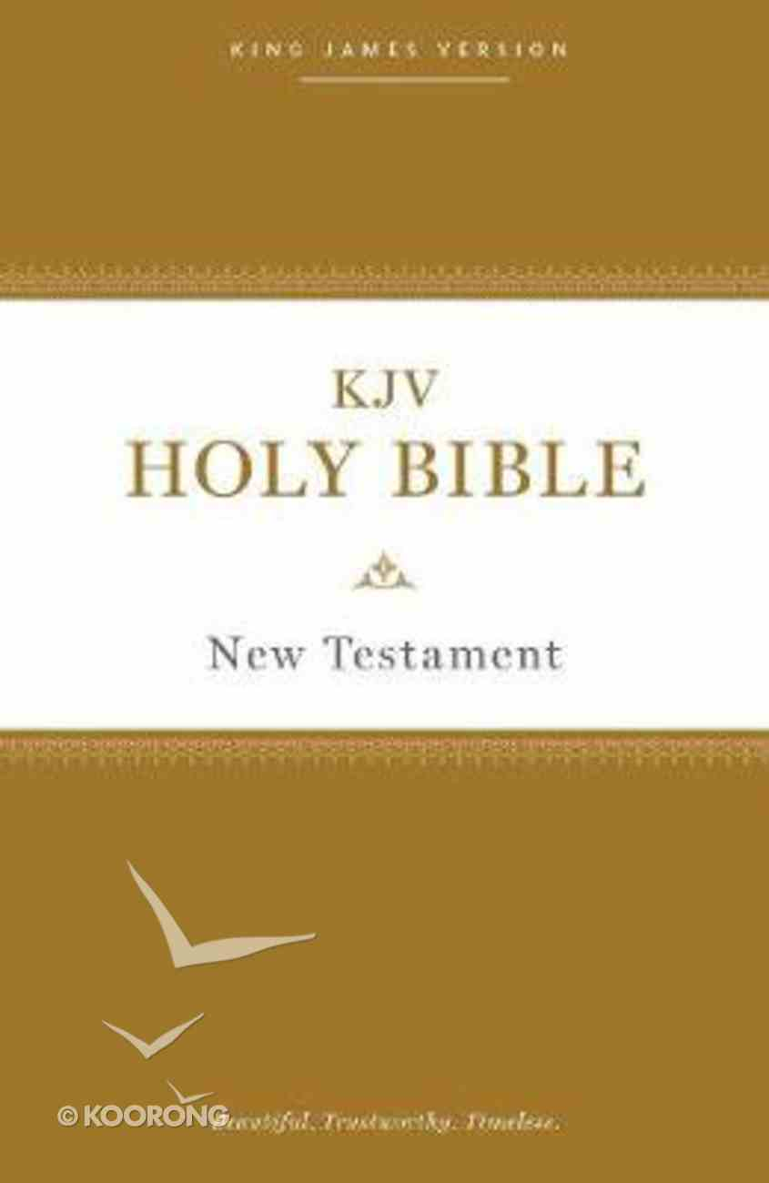 KJV Holy Bible New Testament Paperback