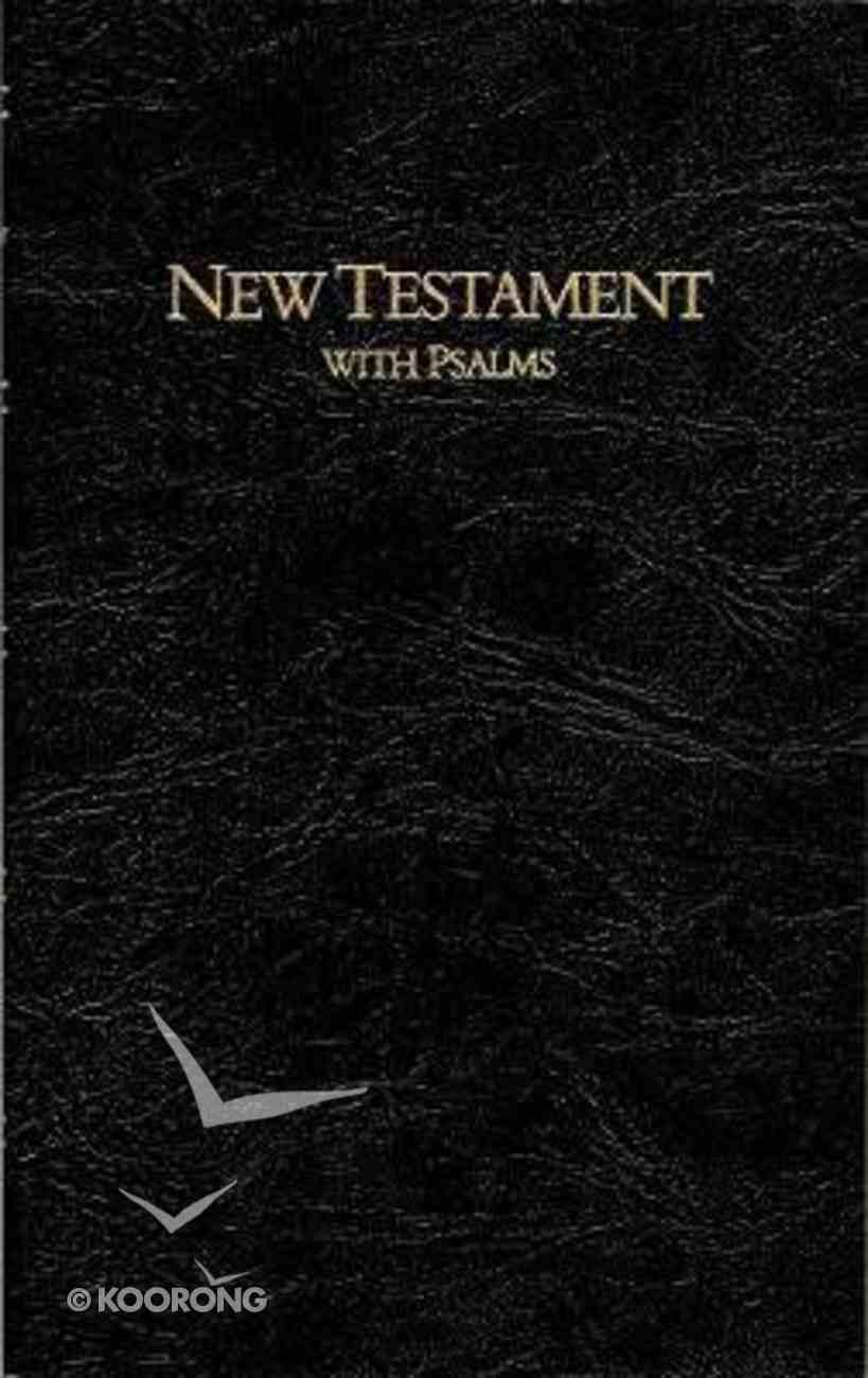 KJV Keystone Large Print New Testament With Psalms Black Imitation Leather