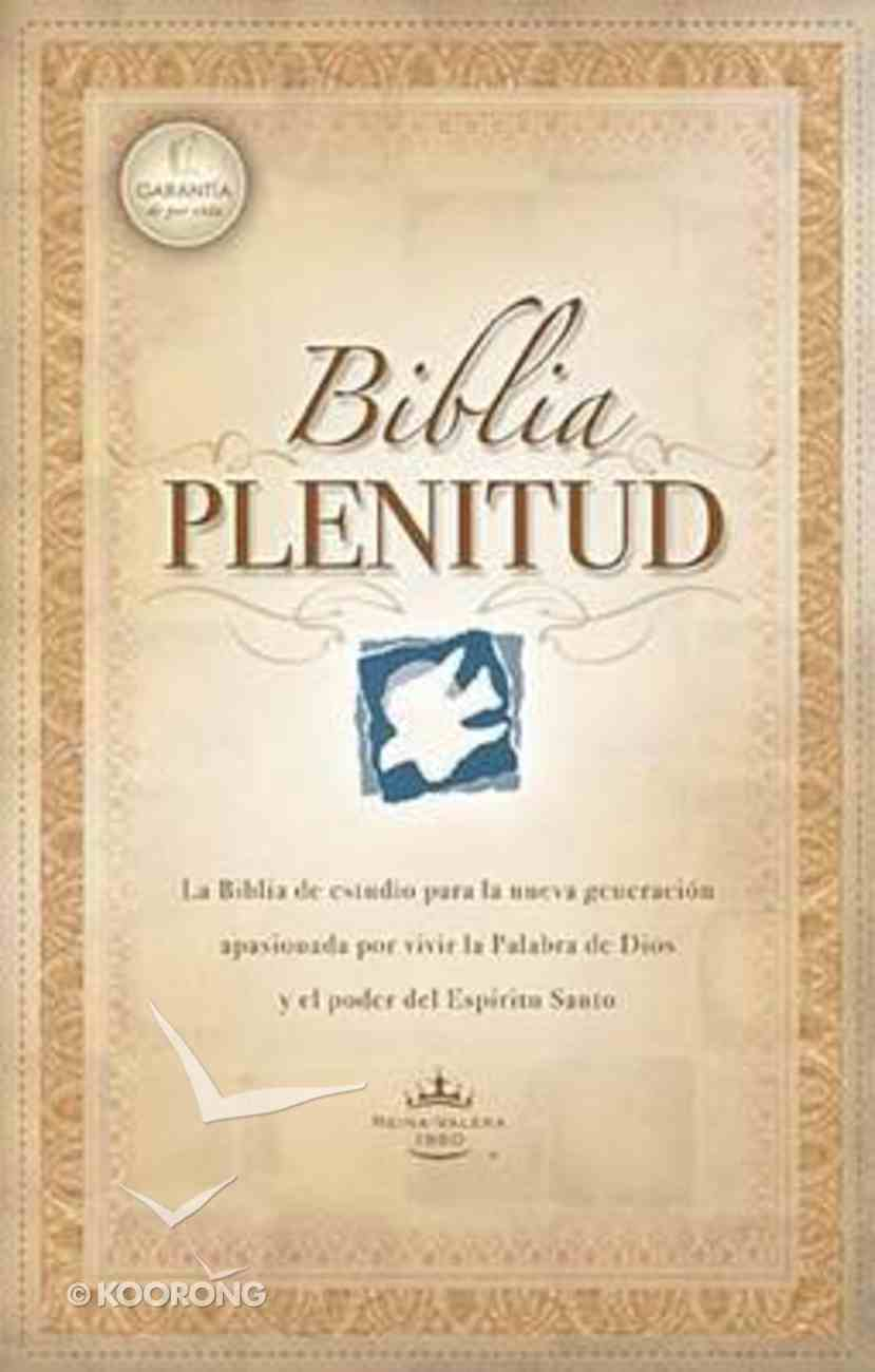 Rvr 1960 Biblia Plenitud Con Indice Black (Red Letter Edition) (Spirit-filled Life Bible) Bonded Leather