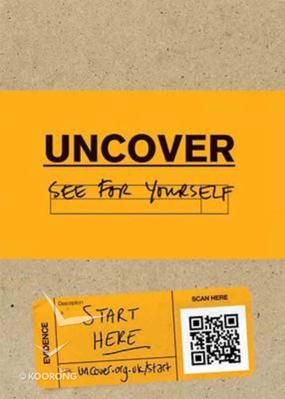 Uncover Luke's Gospel (Uncover Seeker Bible Studies Series) Paperback