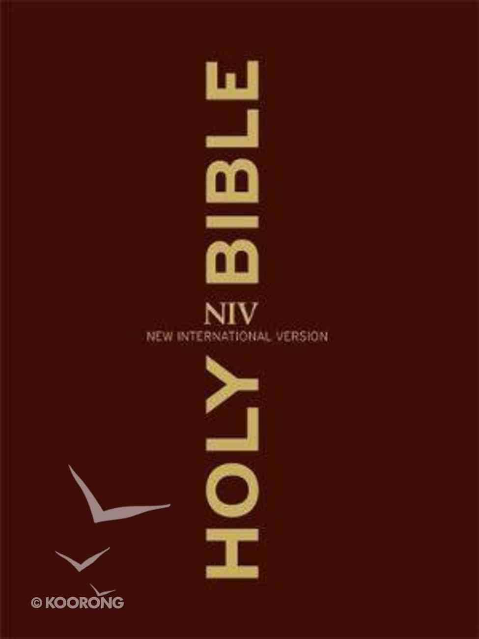 NIV Clear Print Bible Hardback