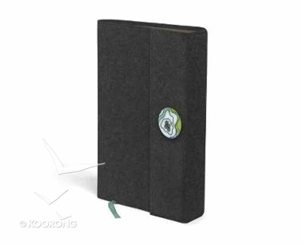 NIV Thinline Woolen Bible Grey Hardback