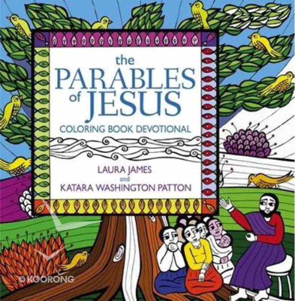 The Parables of Jesus (Adult Coloring Books Series) Paperback