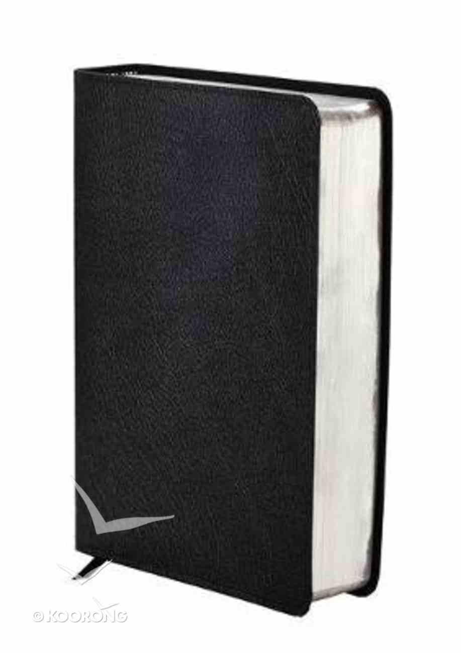 NIV Study Bible Black Bonded Leather
