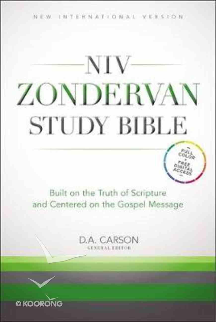 NIV Study Bible Hardback