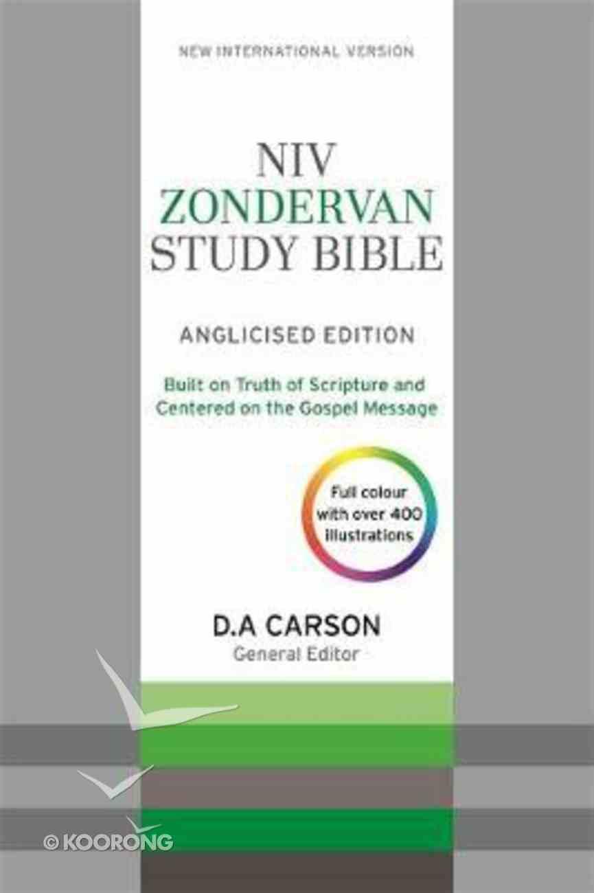 NIV Zondervan Study Bible Anglicised Soft Tone Flexi Back
