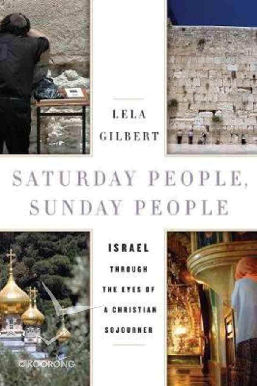 Saturday People, Sunday People Hardback
