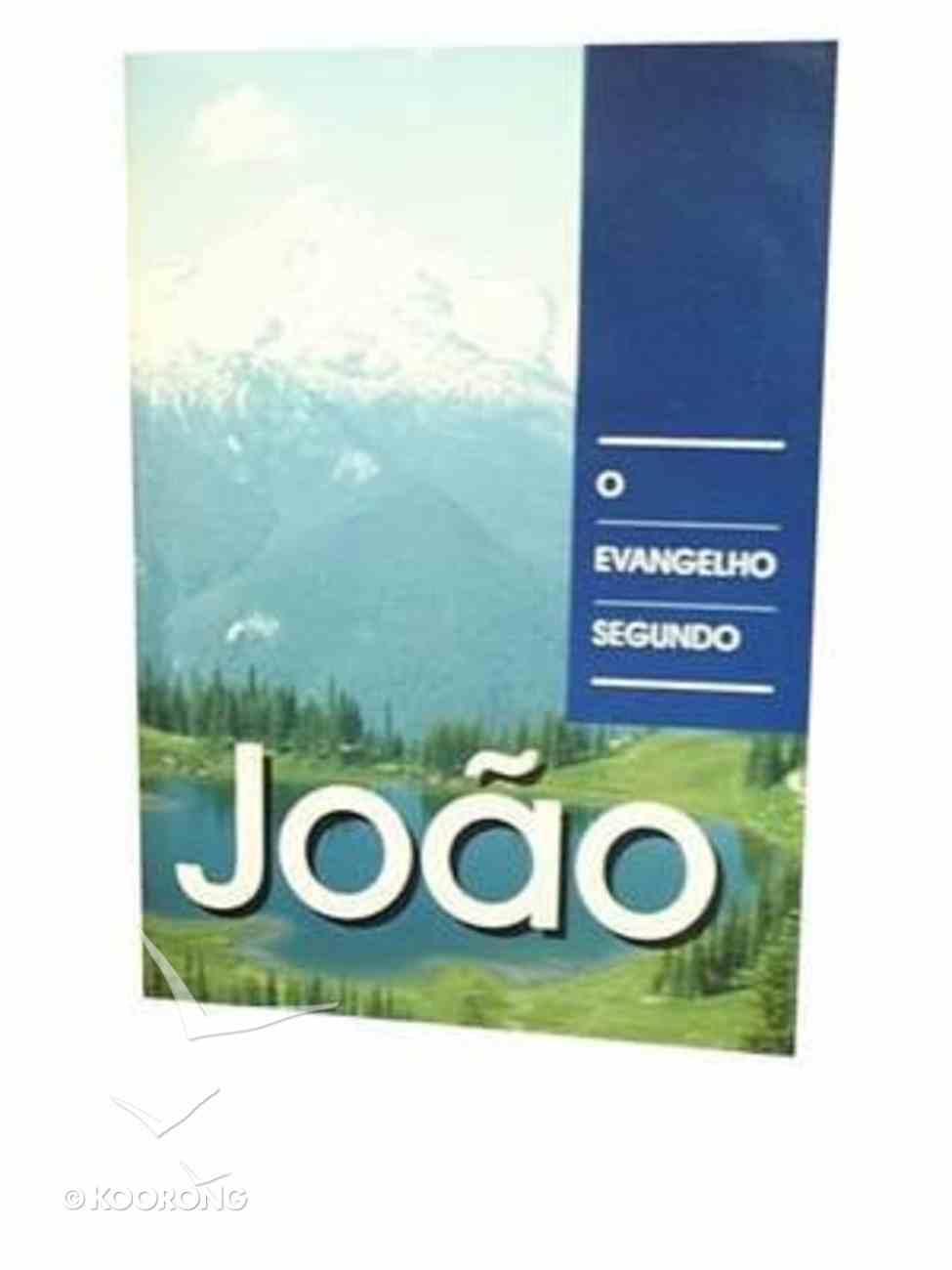 Portuguese Gospel of John Brazilian Pictoral Paperback