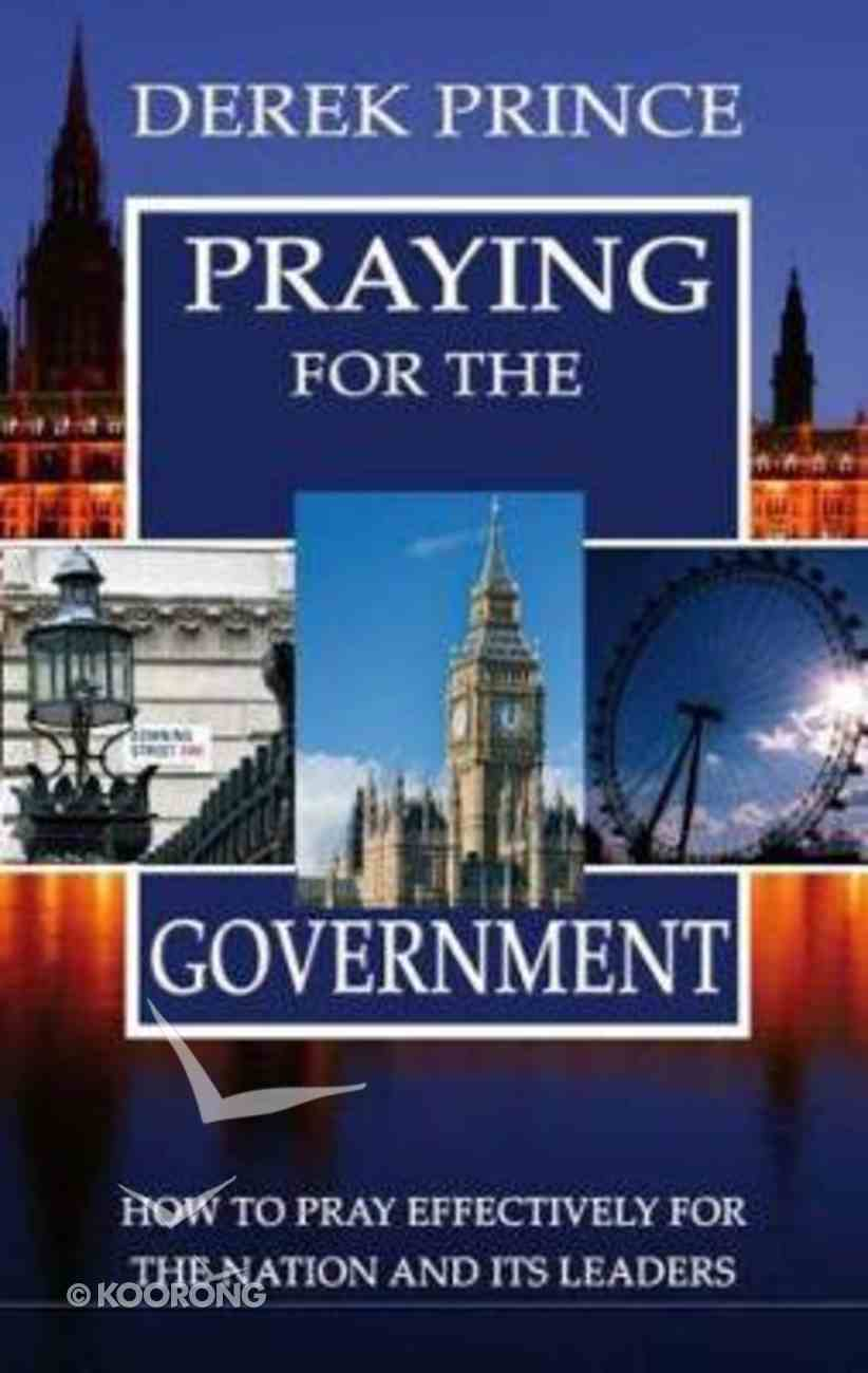 Praying For the Government Paperback