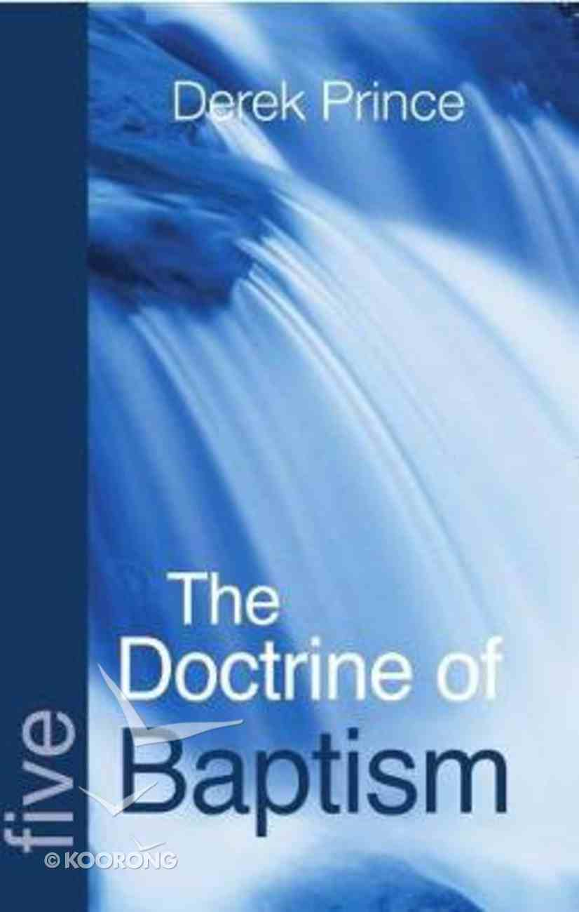 The Doctrine of Baptisms Paperback