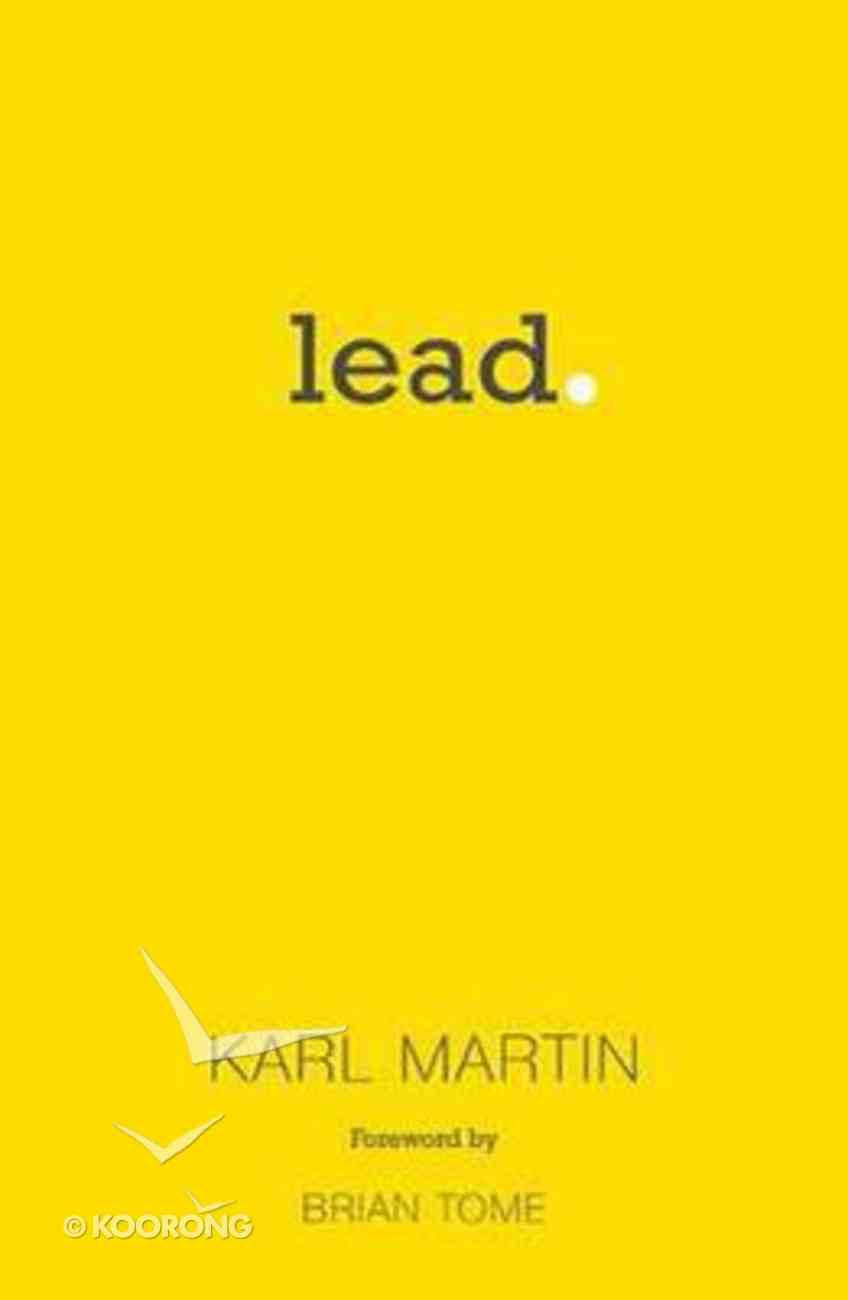Lead Paperback