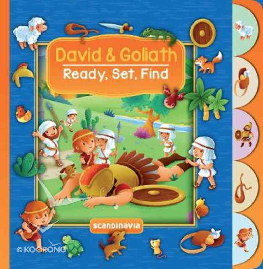 David & Goliath (Ready, Set, Find Series) Board Book