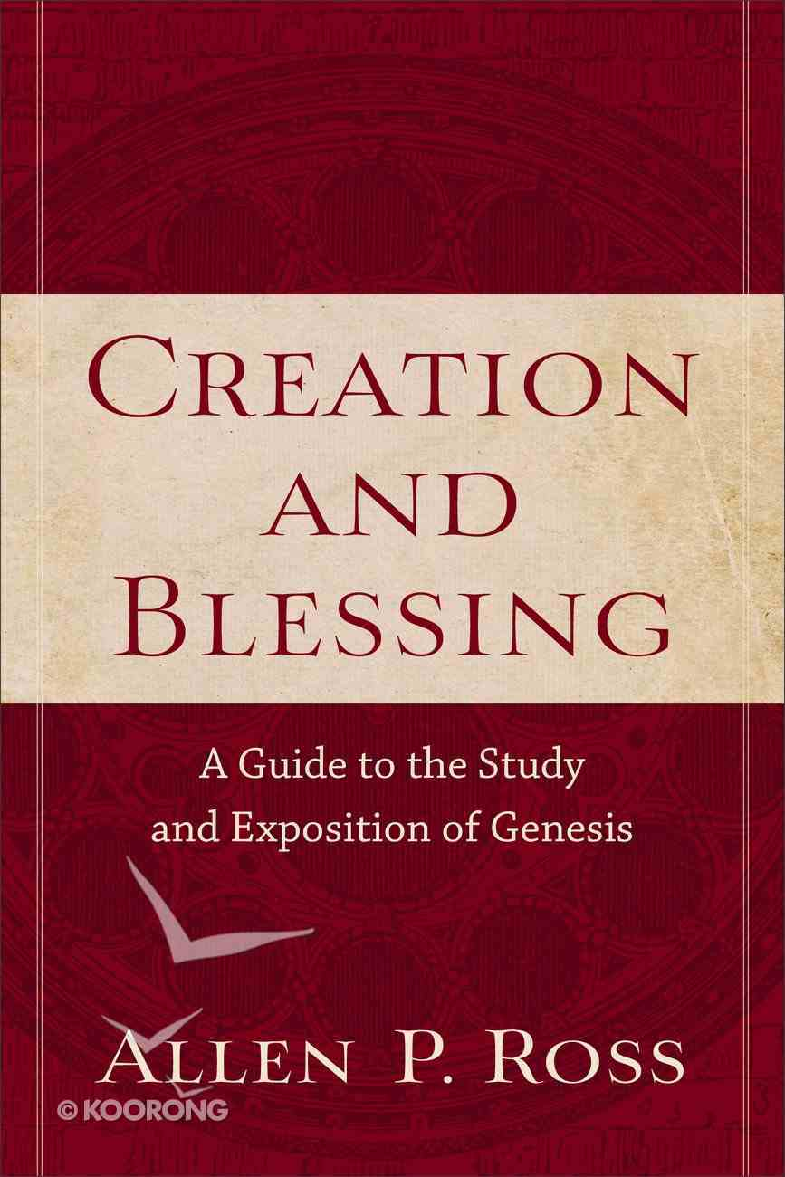 Creation and Blessing Paperback