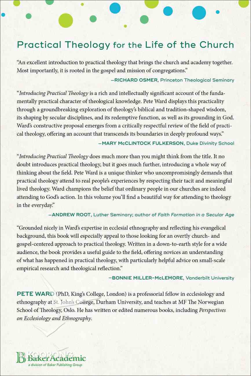 Introducing Practical Theology: Mission, Ministry, and the Life of the Church Paperback