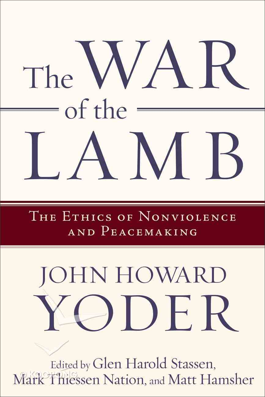 The War of the Lamb Paperback