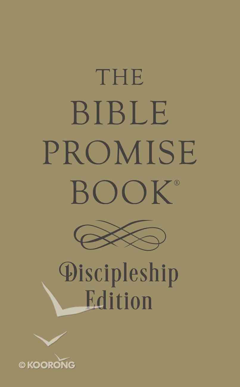 The Bible Promise Book (Discipleship Edition) Paperback
