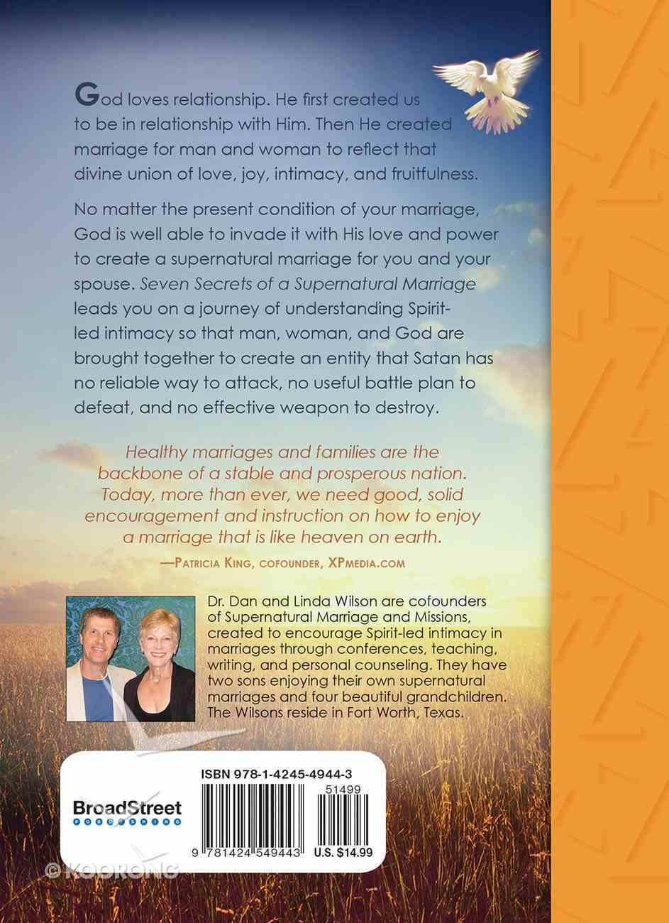 Seven Secrets of a Supernatural Marriage Hardback