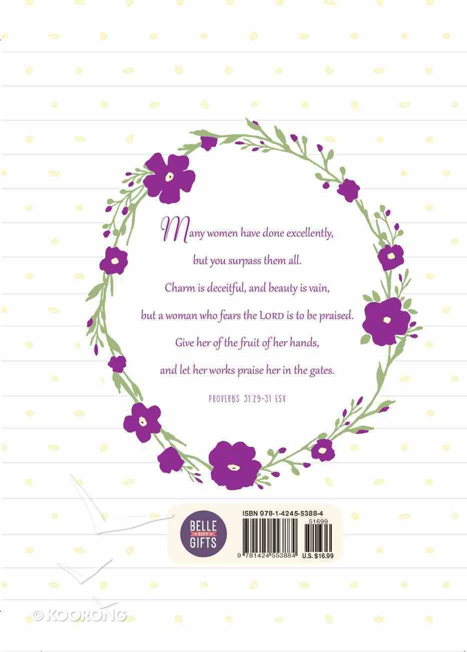 Journal: Delight Yourself in the Lord - Bible Promise Journal For Women Imitation Leather