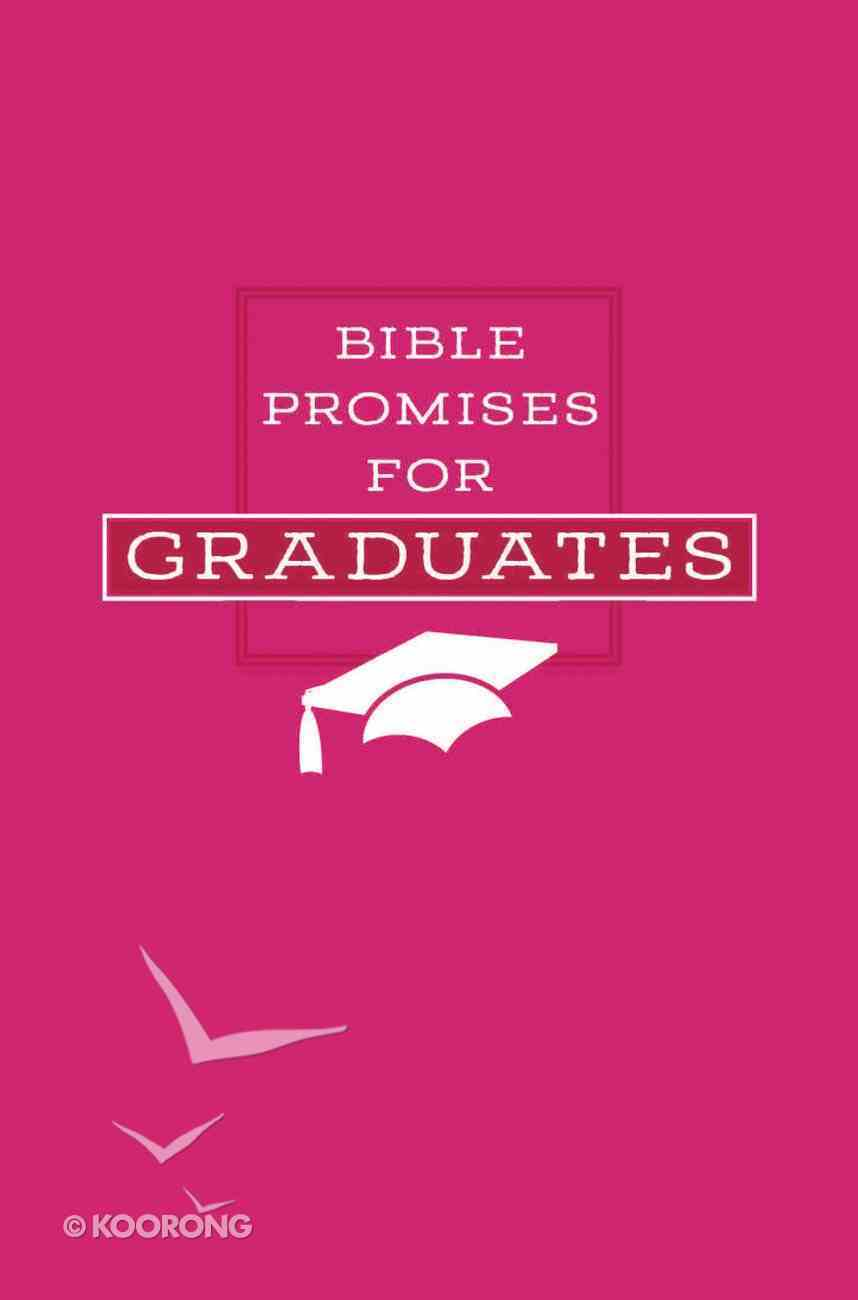 Bible Promises For Graduates (Pink) Imitation Leather