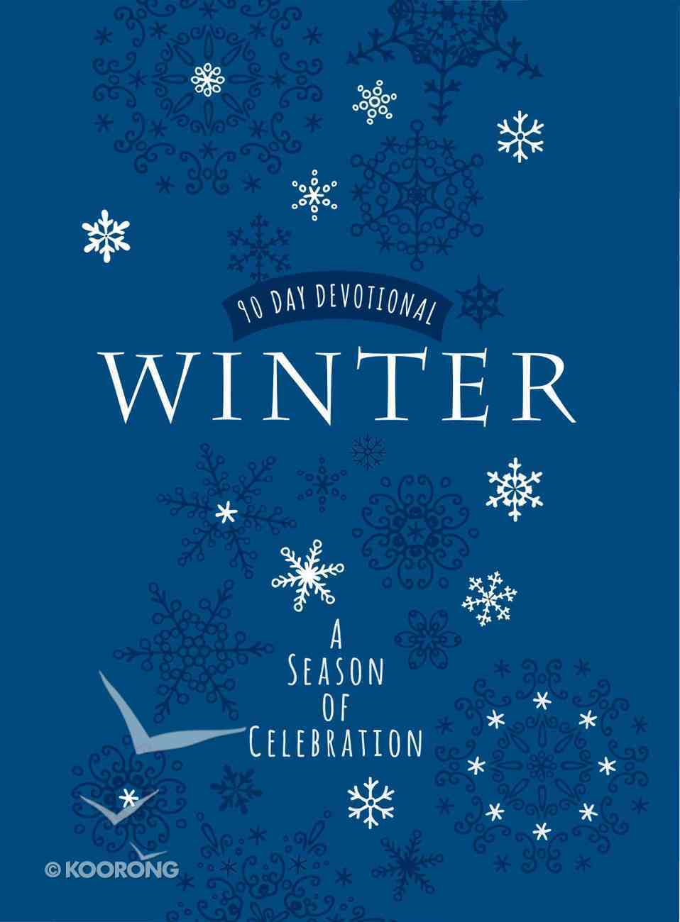 Winter: A Season of Celebration 90-Day Devotional Imitation Leather