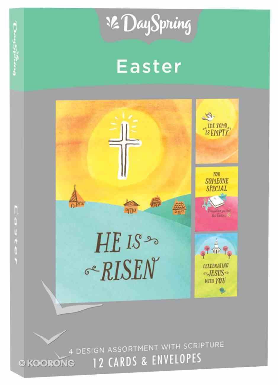 Easter Boxed Cards: He is Risen Box