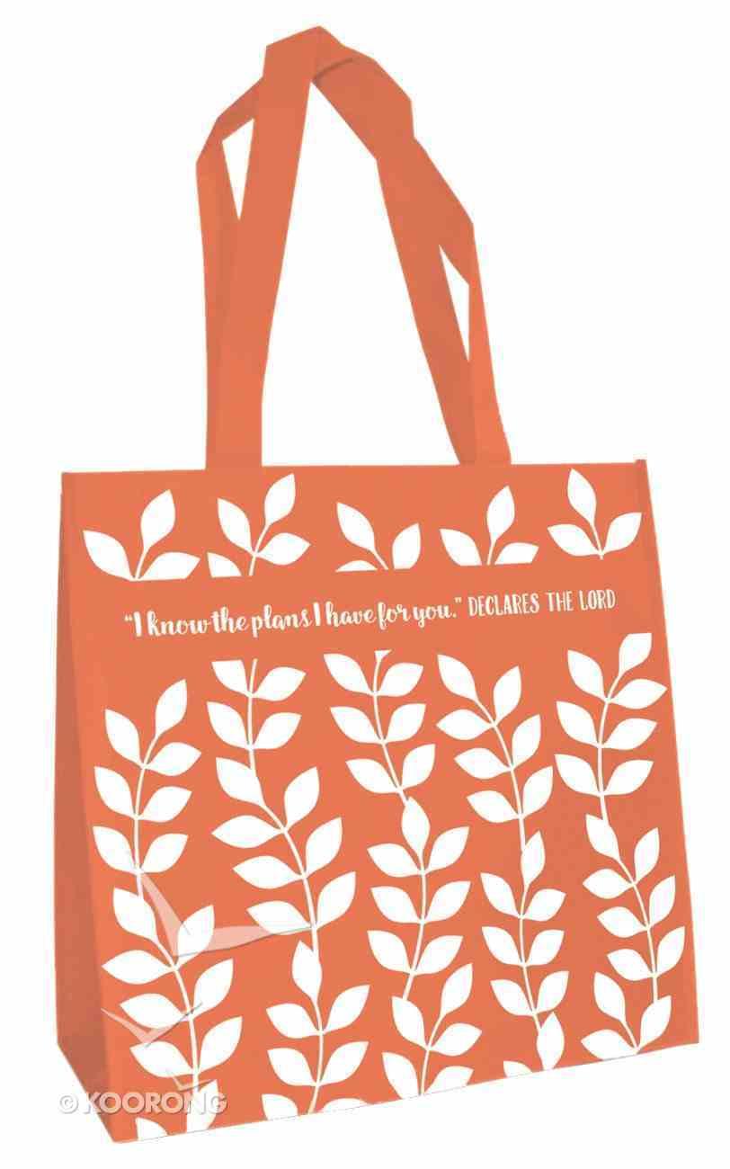 Tote Bag: I Know the Plans... (Orange) Soft Goods