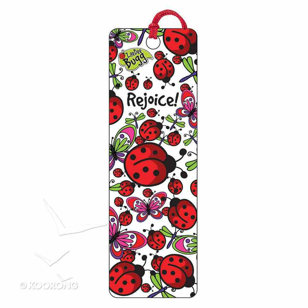 Bookmark 3d: Laedee Bugg - Rejoice! Stationery