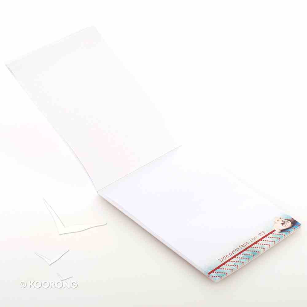 Notepad: A Hug is Worth a Thousand Words (Puppy & Kitten) Stationery