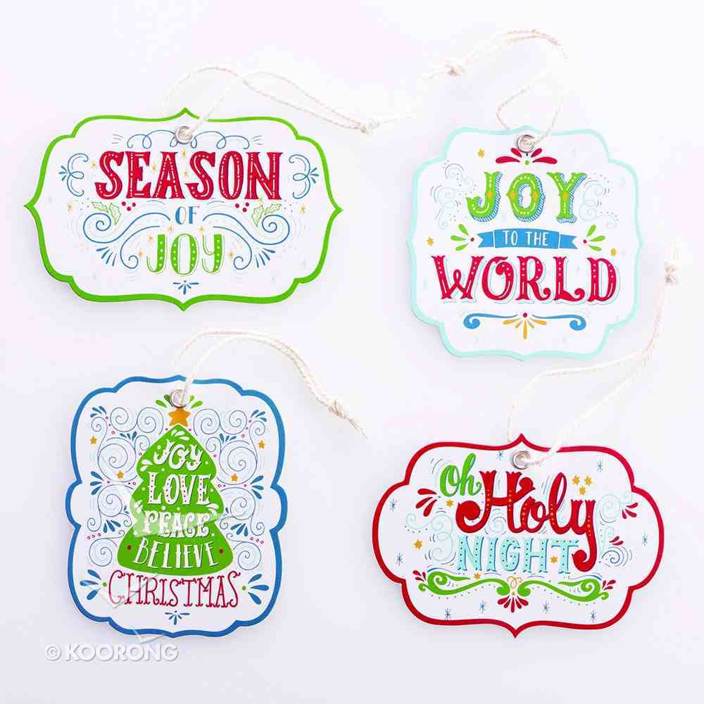 Christmas Gift Tags (16 Pack) Stationery