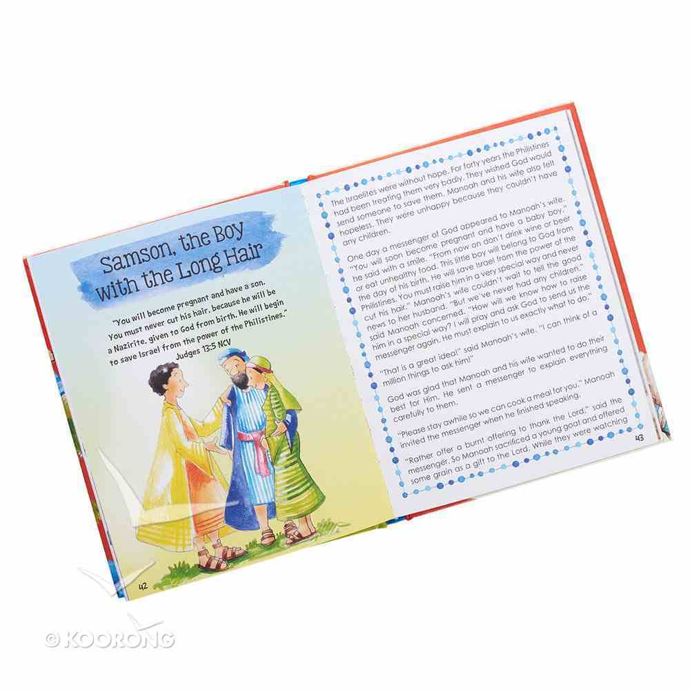 Children of the Bible: 19 Inspiring Bible Stories, Ages 5-8, Full Color Insides Hardback