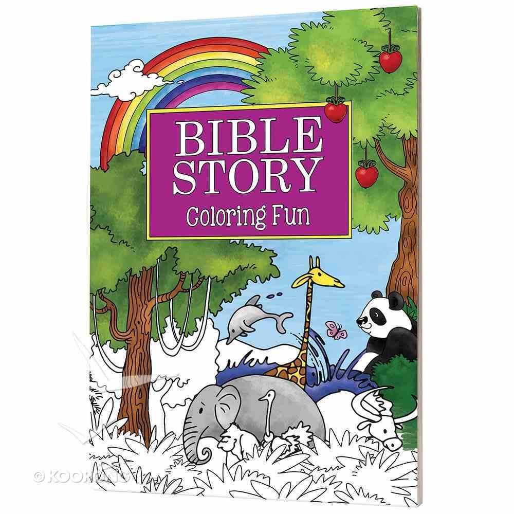 Bible Story: Coloring Fun Paperback
