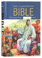 CEV the Illustrated Bible (Blue Background Cover Edition) Hardback