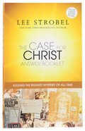 The Case For Christ Answer Booklet (Movie Tie-in) Booklet