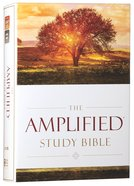 Amplified Study Bible (Black Letter Edition) Hardback