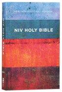 NIV Value Outreach Bible Red Blue Stripes (Black Letter Edition) Paperback