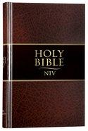 NIV Thinline Bible Brown Hardback