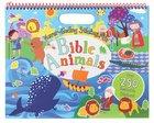 Never-Ending Sticker Fun: Bible Animals Spiral