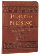 31 Decrees Of Blessing For Your Life image