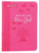 Being My Best For God: 365 Devotions For Kids (Pink) image