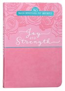 Joy And Strength: 365 Daily Devotions For Mothers image