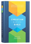 NLT Christian Basics Bible (Black Letter Edition) Hardback