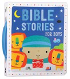 Bible Stories For Boys (Blue) image
