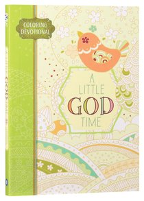 Product: Adult Colouring Book: Little God Time Colouring Devotional,A Image