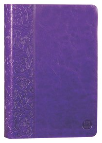 Product: Tpt New Testament With Psalms, Proverbs & Song Of Songs (Purple) Image