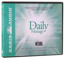Album Image for Daily Message: Through the Bible in One Year MP3 (Unabridged) - DISC 1
