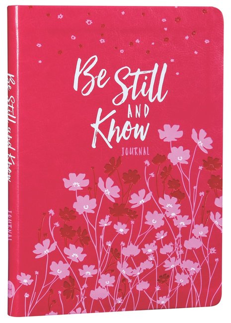 Product: Journal: Be Still And Know (Dark Pink/light Pink) Image