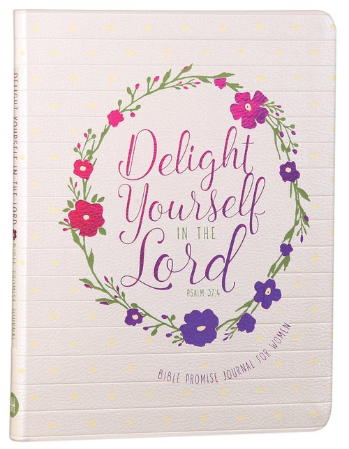 Product: Journal: Delight Yourself In The Lord - Bible Promise Journal For Women Image